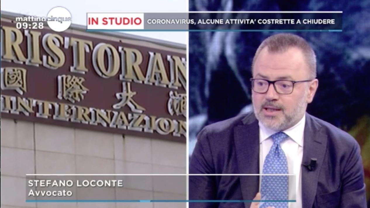 Stefano Loconte Mattino 5