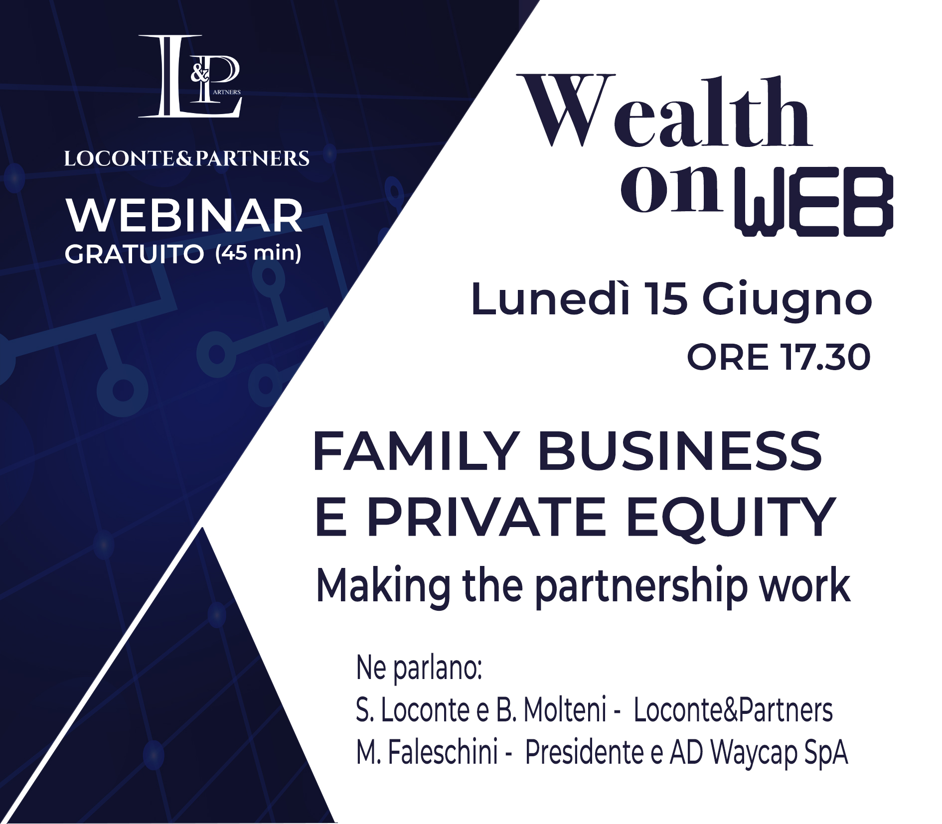WEALTH ON WEB 15 GIUGNO
