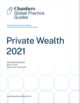 Chambers PrivateWealth Guide 2021